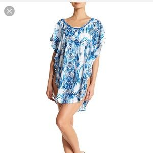 Other - 🌊 NWOT Hawaiian Tropic Plunge Back Coverup Sz S